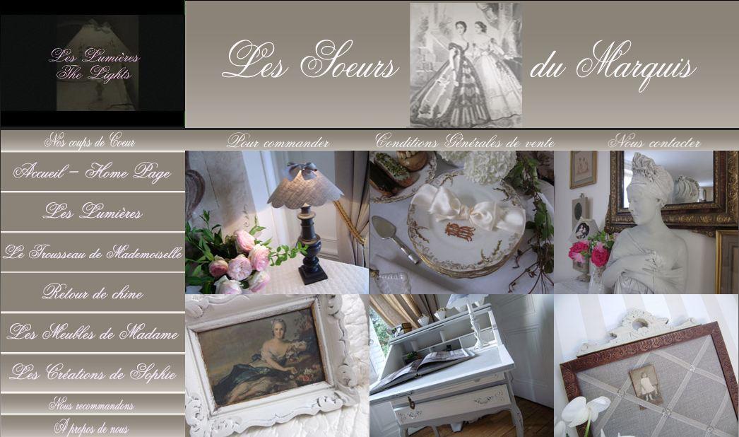 Les soeurs du marquis boutique raffinement francophone - Les soeurs du marquis ...
